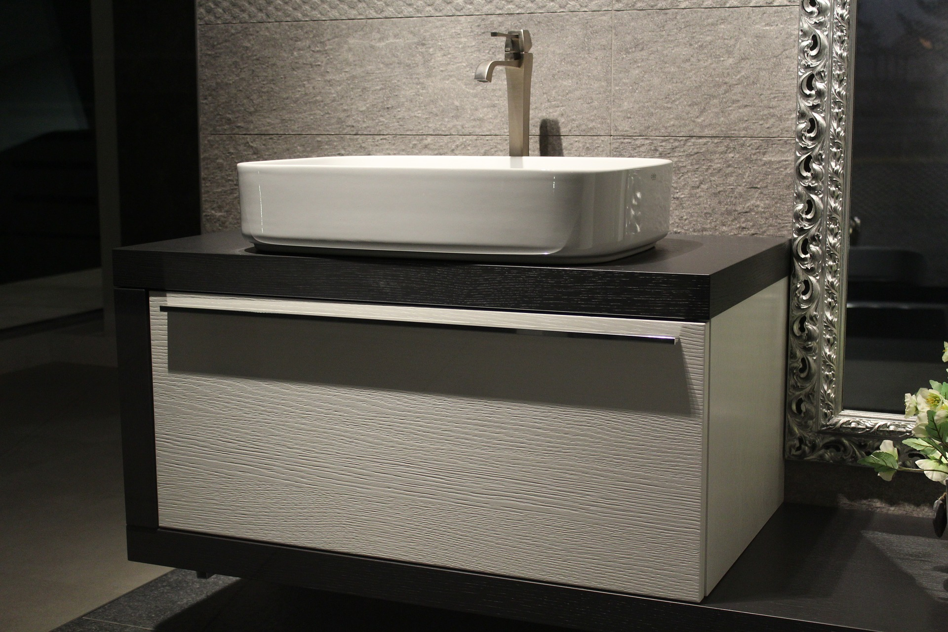 Waschbecken badzubeh r for Design waschbecken mit unterschrank